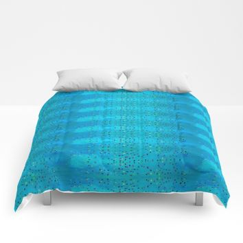 Teal Beanwood. Comforters by Ellebee