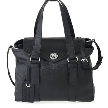 WORKING GIRL LEATHER DOLLY SATCHEL