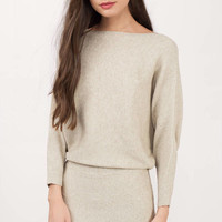 Here For You Sweater Dress