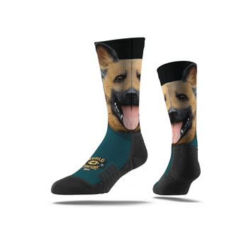 NFLPA Strideline Chris Long Underdog Full Print Crew Socks