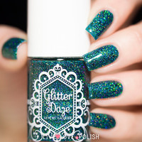 Glitter Daze The Wicked Witch of the West Nail Polish