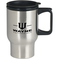 Wayne Enterprises Gotham City For Stainless Travel Mug *