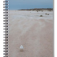 Against The Wind - Spiral Notebook