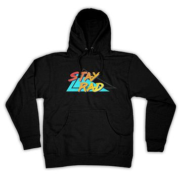 Function - Stay Rad 80's Men's Fashion Hooded Sweatshirt