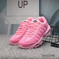 DCCK N683 Nike X Foot Locker Off White Air Max 95 Running Shoes Pink