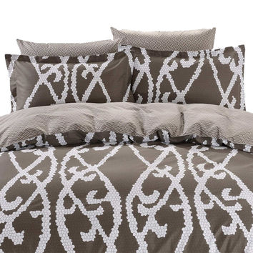 Duvet Cover Sheets Set, Dolce Mela Modena Queen Size Bedding