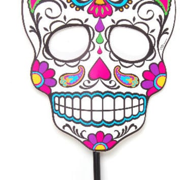 Day of the Dead Sugar Skull Face Mask Case Pack 72