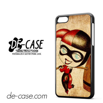 Harley Quinn And Joker Art Couple Case Device 2 DEAL-5070 Apple Phonecase Cover For Iphone 5C