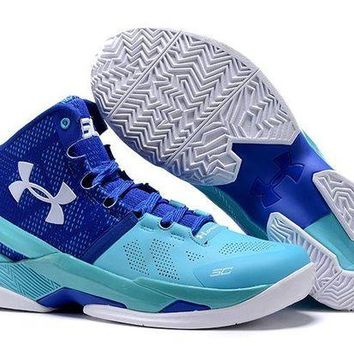 DCCKL8A Jacklish Under Armour Curry 2 Father To Son Pacific/europa On Sale