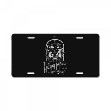 happy mask store License Plate