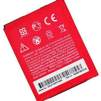 Replacement Battery 1230mah  HTC Droid Incredible HD, Thunderbolt 2, Rezound