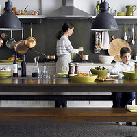 Family Style in Dining Room | Crate and Barrel