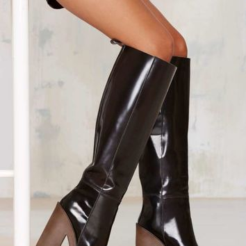 Stiù Cindy Knee-High Platform Boot