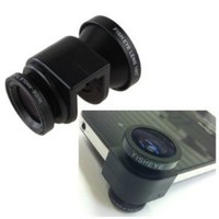 Amazon.com: 3-in-1 Fisheye Lens/ Wide Angle/ Micro Lens Photo Kit Set for iPhone 5 - New iPhone: Cell Phones & Accessories