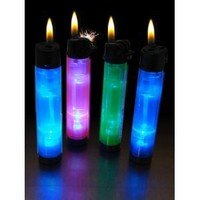 GlowFire Illuminating Disposable Lighter (Assorted)
