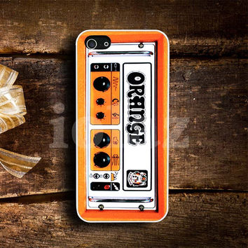 Orange Guitar Amp Design mobile Phone case