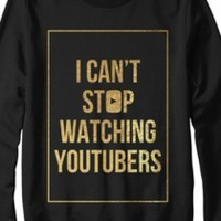 Limited Edition Can't Stop Sweatshirt (Black)