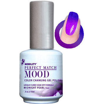 LeChat Perfect Match Mood Gel - Midnight Pearl 0.5 oz - #MPMG07