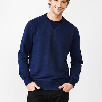 Gap Men 1969 Indigo Crewneck Sweatshirt