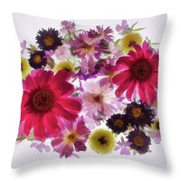 Spring Bouquet Throw Pillow for Sale by Susan Eileen Evans