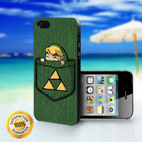 Pocket Link The Legend Of Zelda - For iPhone 4/4s, iPhone 5, iPhone 5s, iPhone 5c case. Please choose the option