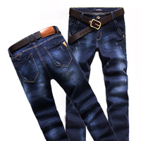 Winter Luxury Stretch Korean Slim Casual Jeans [6541762243]