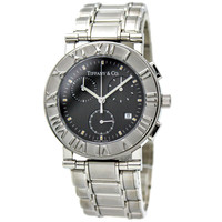 TIFFANY & CO. Atlas Chronograph Quartz Watch for Men in Stainless Steel