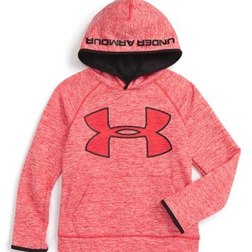 Under Armour 'Storm Armour® Fleece - Twist' Hoodie (Little Boys & Big Boys) | Nordstrom