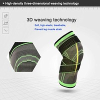 Protective Sports Knee Pad Breathable knee braces n wraps