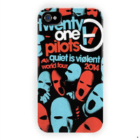 Twenty One Pilots Poster Album For iPhone 4 / 4S Case