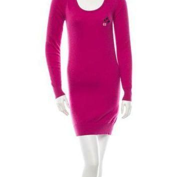 ONETOW balenciaga fleece wool dress 2
