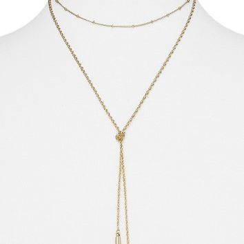 BaubleBar Karint Layered Y-Necklace | Nordstrom