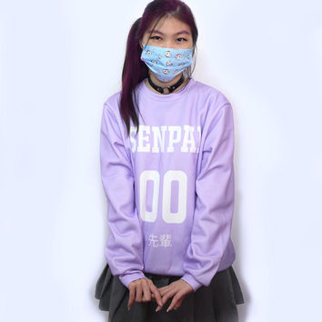 "Japanese Otaku Fashion Sweater! ""Senpai 先輩"""