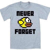 Never Forget Funny Party Gaming - Mens T-Shirt - Athletic heather - X-Large