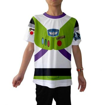 Kid's Buzz Lightyear Toy Story Inspired Shirt