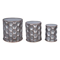 Foreside Honeycomb Set of 3 Side Tables | Nordstrom