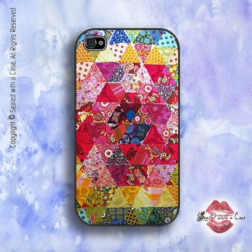 Crazy Quilt - iPhone 4 Case, iPhone 4s Case and iPhone 5 case, Samsung Galaxy