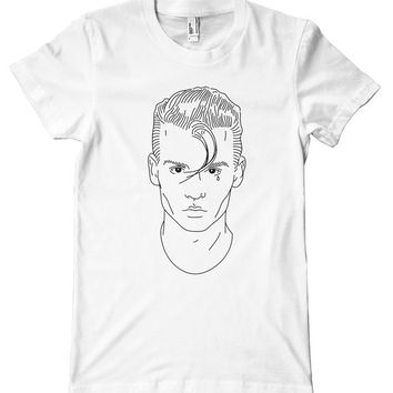 Johnny Depp Cry-Baby American Apparel T-Shirt