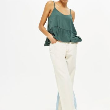 Relaxed Peplum Camisole Top | Topshop
