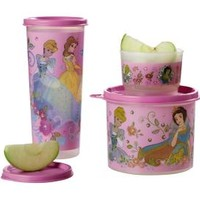 Tupperware | Disney Princess Beverage and Snack Set
