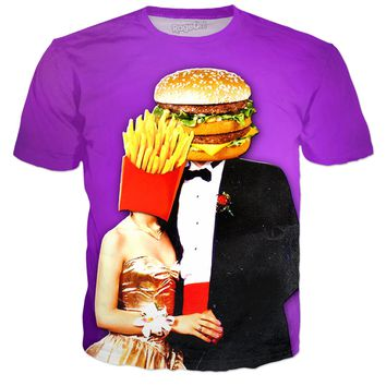 Burger Prom King T-Shirt