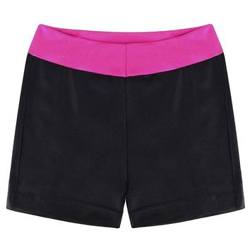 Hot Shorts BAOHULU Black Sparkly Baby Girls  Gymnastics Kids  Children  for Girls Cansual Outfit Girl Clothes 2-12 YearsAT_43_3