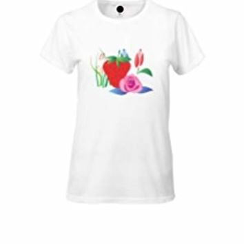 ALNBRANDS® Sweet Female Tee Shirt by