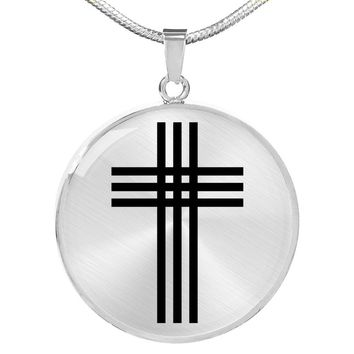 Stylized Cross - Luxury Necklace