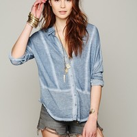 Free People Zahara Button Down