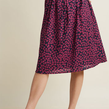 Compania Fantastica With Love A-Line Skirt