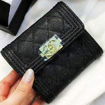 Chanel 2018 new trend of fashion women's exquisite fashionable clutch bag F-AGG-CZDL