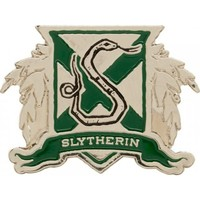 Harry Potter | Slytherin COLOURED LAPEL PIN
