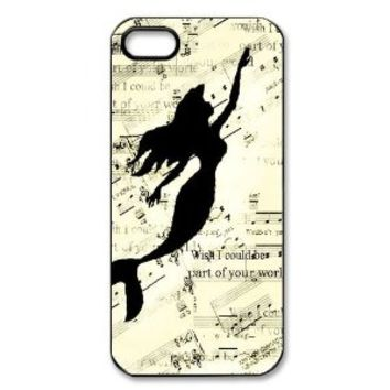 The Little Mermaid Case for Iphone 5