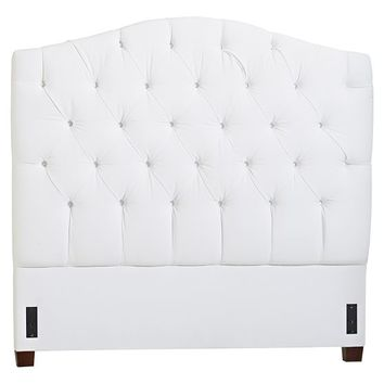 Eliza Tufted Bed + Headboard